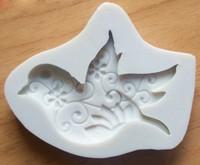 Dove Swirled Silicone Mold