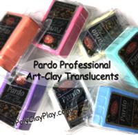 Pardo Translucent Art Clay Orange