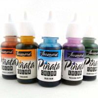 Piñata Alcohol Inks Silver