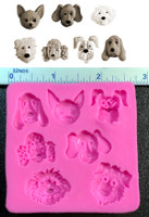 Adorable Puppy Dog Mold 7 Different Pups