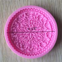 Flower Vine Lace Cabochon Mold