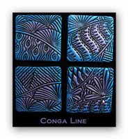 Helen Breil Stamps - Conga Line