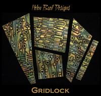 Helen Breil Stamps - Gridlock