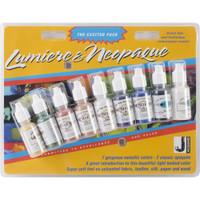 Jacquard Lumiere/Neopaque Exciter Pack .5oz 9/Pkg
