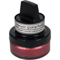 Cosmic Shimmer Metallic Gilding Polish - Rich Red