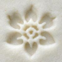 Six Petal Flower Stamp