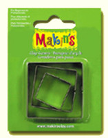 Makin's Clay 3 Piece Cutter Set Square