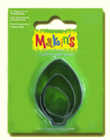 Makin's Clay 3 Piece Cutter Set Bulb Ornament