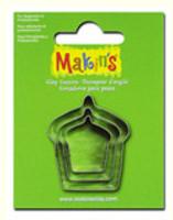 Makin's Clay 3 Piece Cutter Set Cake