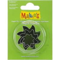 Makin's Clay 3 Piece Cutter Set Sun