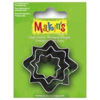 Makin's Clay 3 Piece Cutter Set Caption