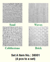 Makins Texture Sheets Set A