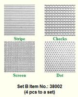 Makins Texture Sheets Set B