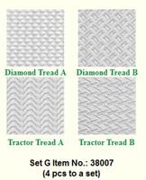 Makins Texture Sheets Set G