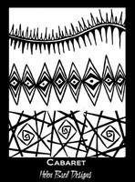 Helen Breil Silk Screens - Cabaret