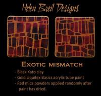 Helen Breil Silk Screens - Exotic Mismatch