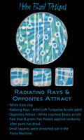 Helen Breil Silk Screens - Radiating Rays