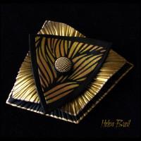 Helen Breil Silk Screens - Night Wind