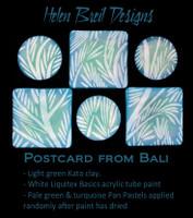 Helen Breil Silk Screens - Postcards from Bali