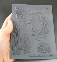 Christi Friesen Texture Stamp Art Nouveau