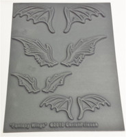 Christi Friesen Texture Stamp Fantasy Wings