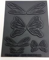 Christi Friesen Texture Stamp Flutter Wings