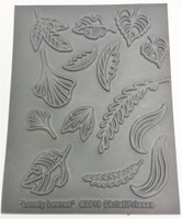Christi Friesen Texture Stamp Lovely Leaves