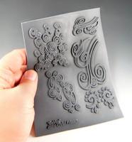 Christi Friesen Texture Stamp Swirlys