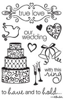 Rubber Stamps - Our Wedding