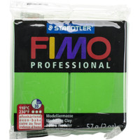 Fimo Professional Polymer Clay - Sap Green
