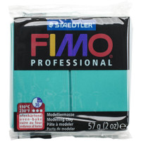 Fimo Professional Polymer Clay - Green