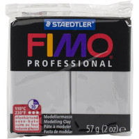 Fimo Professional Polymer Clay - Dolphin Grey