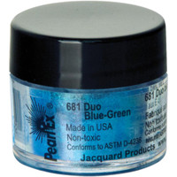 Jacquard Pearl Ex Powdered Pigment 3g - Duo Blue-Green