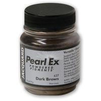 Jacquard Pearl Ex Powdered Pigment 14g - Dark Brown