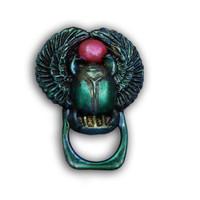 Egyptian Scarab Badge or Glasses Holder Free Tutorial