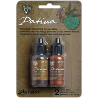 Vintaj Patinas Inks for Metals - Ancient Coin-Aged Bronze/Antq Copper