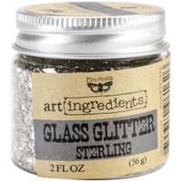 Finnabair Glass Glitter Sterling