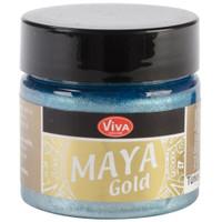 Maya Gold - Turquoise