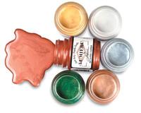 Jacquard Lumiere Metallic Acrylic Paint 2.25oz - Hi-Lite Red