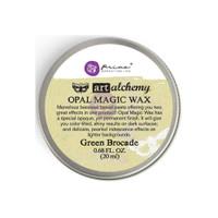 Finnabair Art Alchemy Opal Magic Wax - Green Brocade