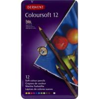Derwent Coloursoft Watercolor Pencils 24/Pkg