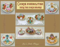 Dollhouse Miniature Cookies by Lisa Engler