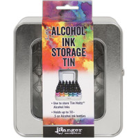 Alcohol Ink Storage Tin by Tim Holtz