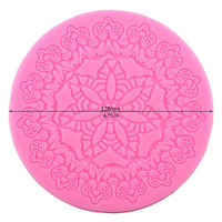 Crown Flower Lace Silicone Mold/Mat