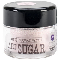 Finnabair Art Ingredients Art Sugar Ultra Fine Glitter .21oz - Light Pink
