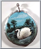 Sculptured Swan Pendant Tutorial - FREE