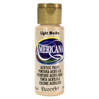 Americana Acrylic Paint 2oz - Light Mocha