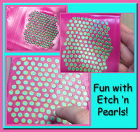 Fun way to use Etch 'n Pearls