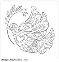 Mandala Dove