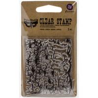 Crackle Messy Stamp Finnabair by Prima Marketing 2.5 x 3